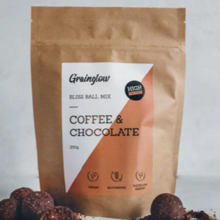 Grainglow Bliss Ball Coffee & Chocolate 250g