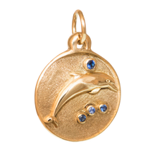 Load image into Gallery viewer, Happy Dolphin Children's Pendant