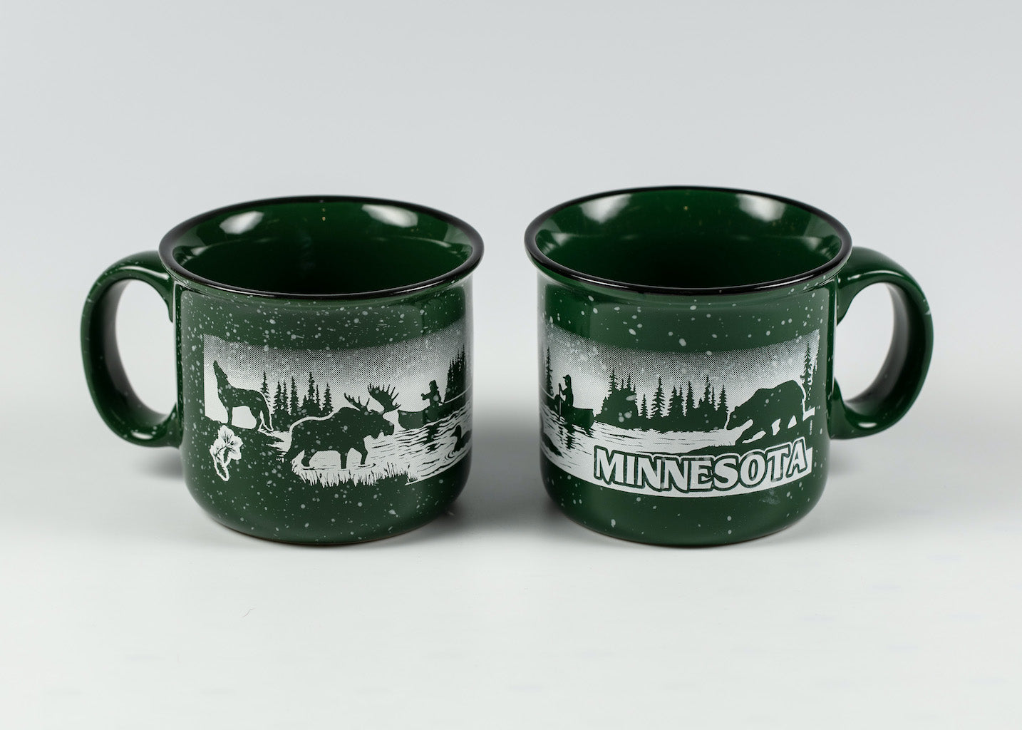 14 OZ MINNESOTA WILDERNESS CAMPFIRE MUG
