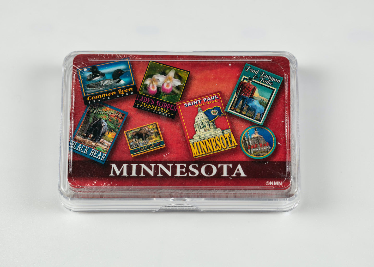 MINNESOTA RED POSTER ART PLAYING CARDS