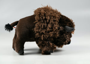 "12 ""PLUSH CUDDLE BUFFALO"