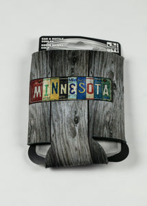 MINNESOTA LICENSE PLATE CAN COOZIE