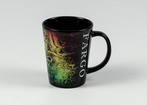 16 OZ FARGO ELECTRIC ART MUG BLACK