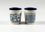 Load image into Gallery viewer, NORTH DAKOTA WRAP HISTORY SHOTGLASS