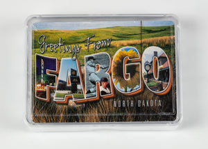FARGO LETTER PLAYING CARDS
