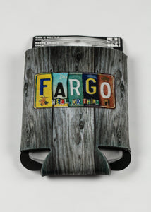 FARGO LICENSE PLATE CAN COOZIE