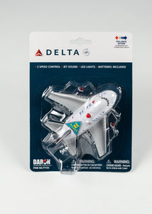 DELTA PULLBACK PLANE FOR AGES 3 AND UP BATTERIES INCLUDED