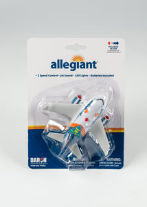ALLEGIANT PULLBACK PLANE FOR AGES 3 AND UP BATTERIES INCLUDED