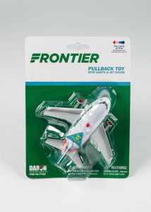 FRONTIER PULLBACK PLANE FOR AGES 3 AND UP BATTERIES INCLUDED