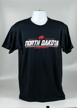 Load image into Gallery viewer, NORTH DAKOTA WHERE THE BUFFALO ROAM ADULT TEE 100% COTTON