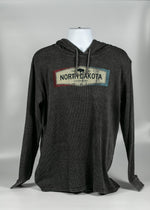 Load image into Gallery viewer, NORTH DAKOTA LEGENDARY ADULT THERMAL HOODIE 55% COTTON/45% POLY