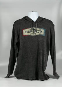 NORTH DAKOTA LEGENDARY ADULT THERMAL HOODIE 55% COTTON/45% POLY