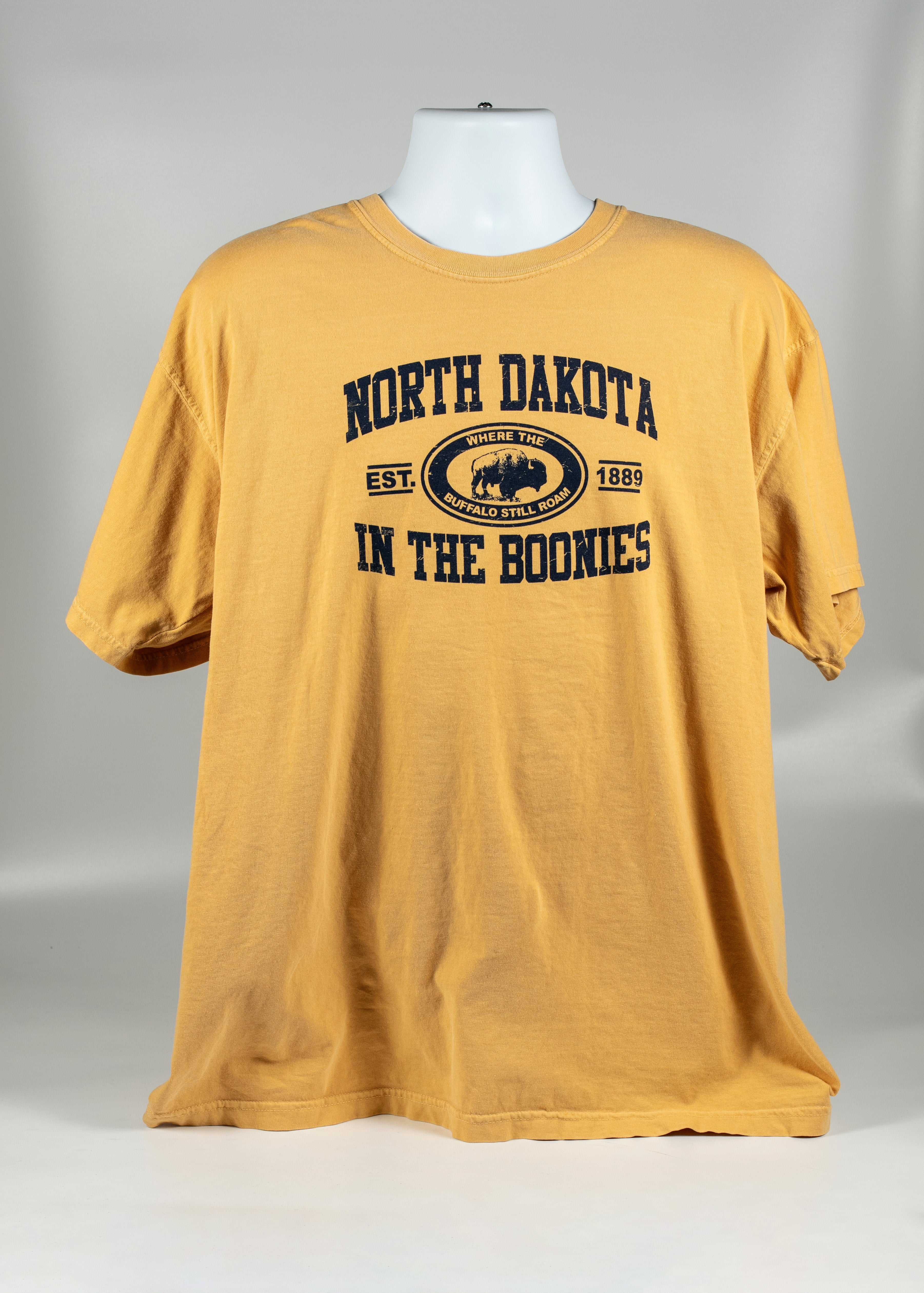 NORTH DAKOTA ADULT BOONIES TEE 100% COTTON