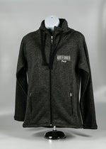 Load image into Gallery viewer, NORTH DAKOTA/FARGO WOMENS POLYESTER FLEECE JACKET 6.9 OZ