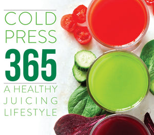 Omega Cold Press 365 Recipe Book