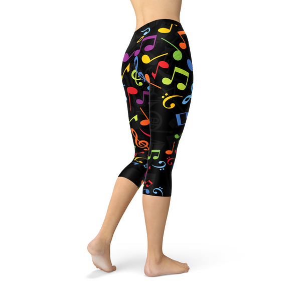 Cheshire Cat Capri Leggings