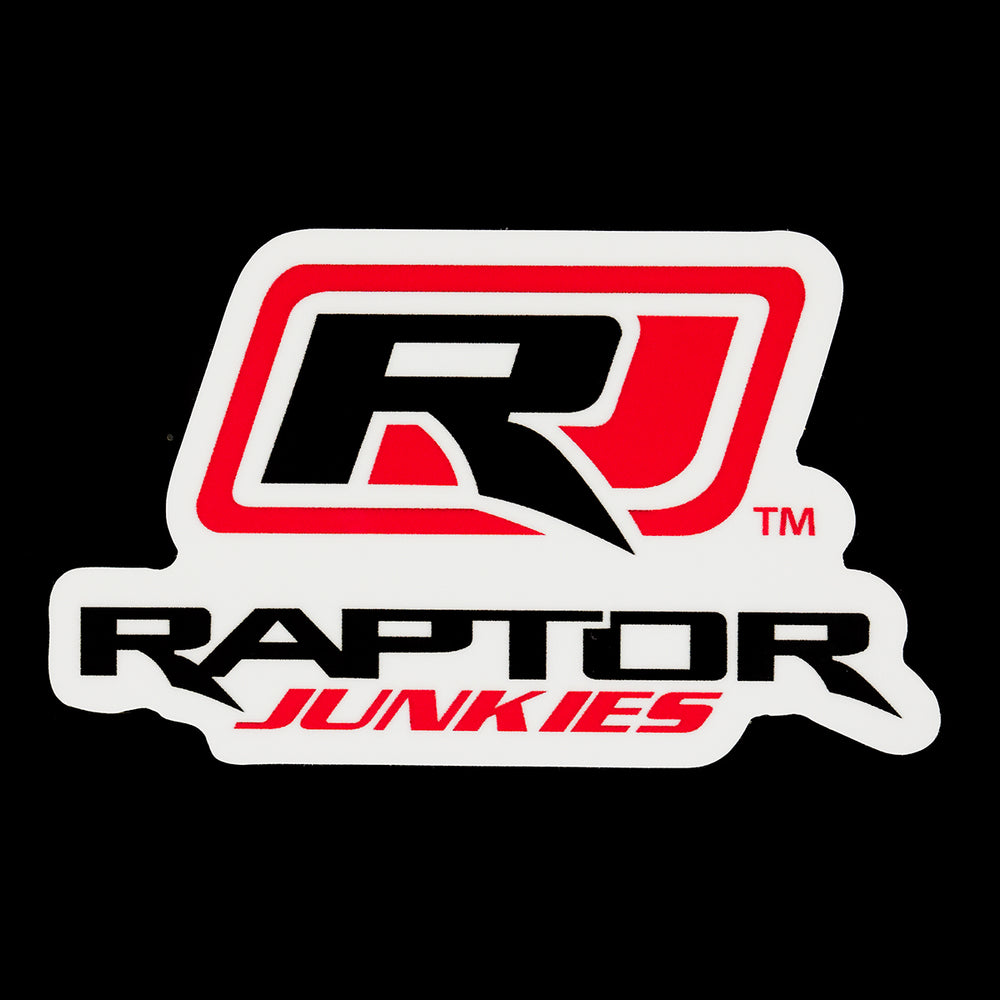 Raptor Junkies Logo Decal