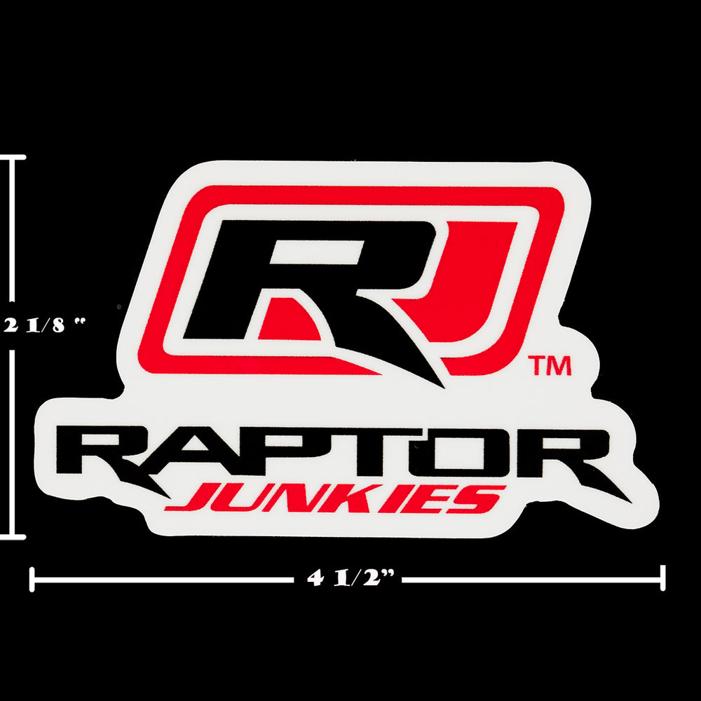 Load image into Gallery viewer, Raptor Junkies Logo Decal