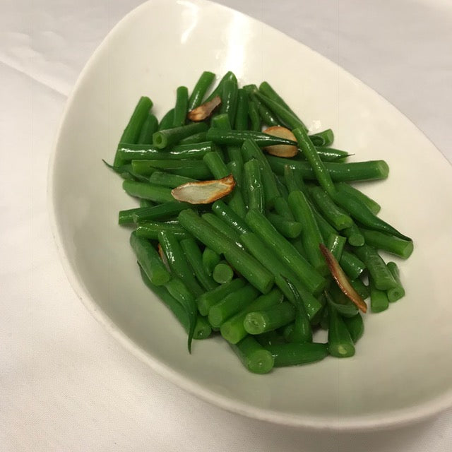 French String Beans, Garlic