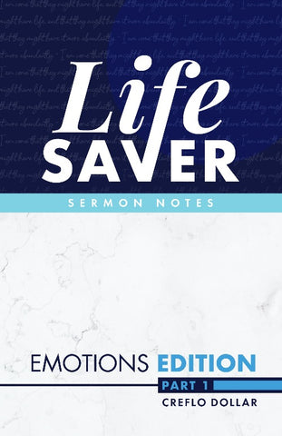 Life Saver Sermon Notes: Emotions Edition (Part 1) - Midi Book