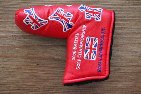 2006 Red British Open Dancing Scotty Dogs Headcover