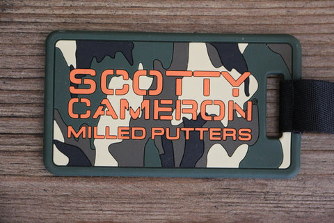 Scotty Cameron Camo Headcover Leash