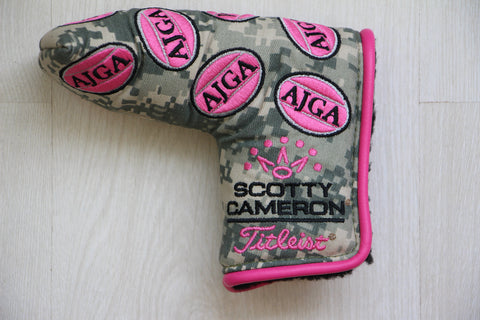 Camo and Pink AJGA Headcover