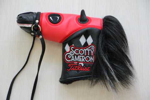 Scotty Cameron Red Del Mar California Horse Cover