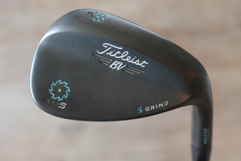 Titleist Vokey Design SM5 S Grind 58 Degree Custom Tiffany Wedge