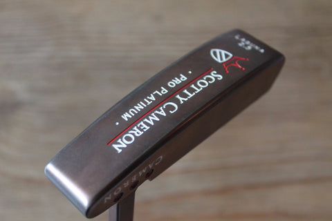 Scotty Cameron Pro Platinum Laguna 2.5 Custom Shop Copper Putter