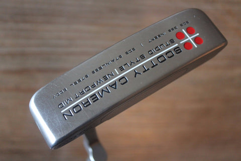 Scotty Cameron Studio Style Newport Mid Custom Shop Putter