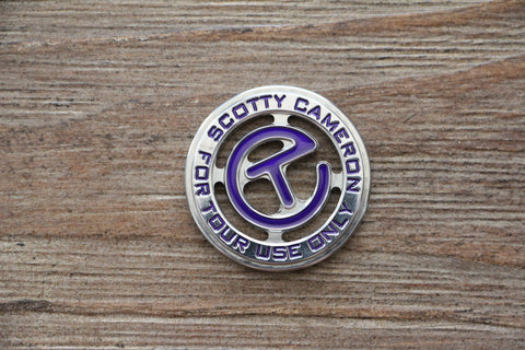 Scotty Cameron Purple Circle T Ball Marker