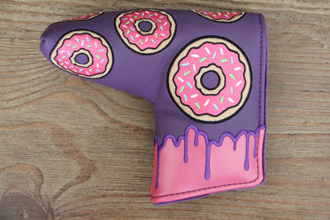 Tyson Lamb Purple and Pink Donut Headcover