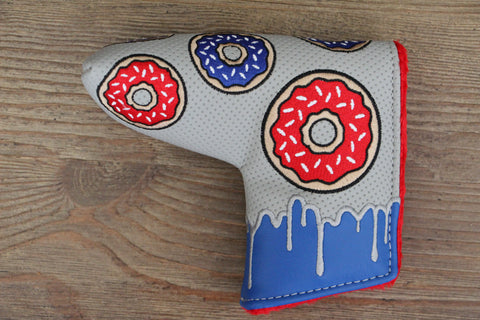 Tyson Lamb Gray and Blue Donut Headcover