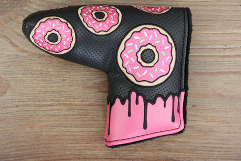 Tyson Lamb Black and Pink Donut Headcover