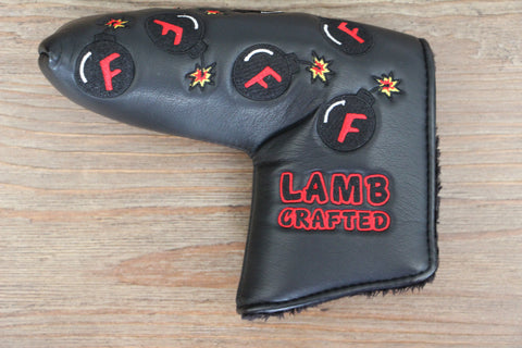 Tyson Lamb Black Mini F Bombs Headcover
