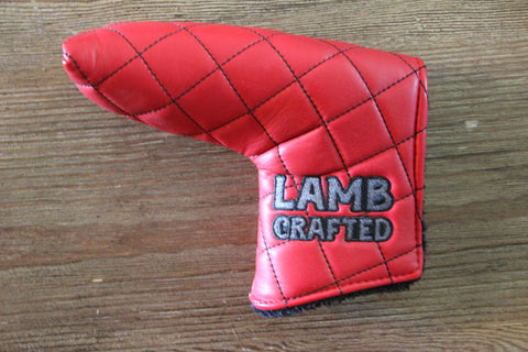 Tyson Lamb Red Quilted Headcover