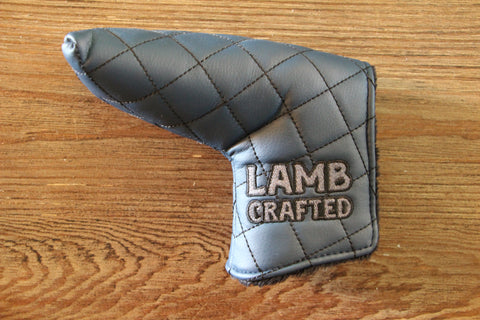 Tyson Lamb Blue Quilted Headcover