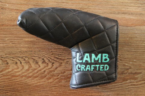 Tyson Lamb Black Quilted Headcover