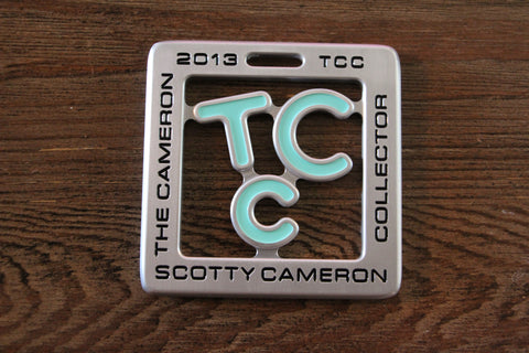 Scotty Cameron Tiffany 2013 TCC Bag Tag