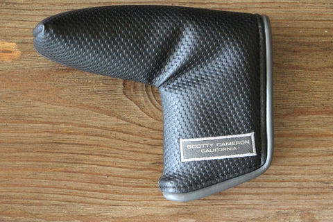 Black and Grey Piping Putter Cover