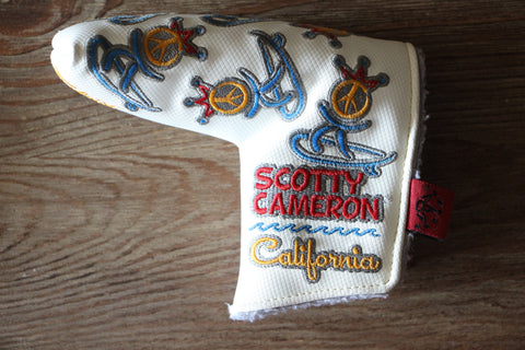 Scotty Cameron White Peace Surfer Headcover