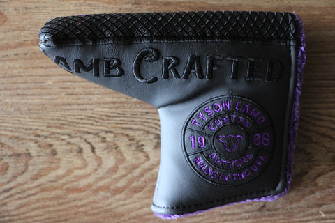 Tyson Lamb Purple Milled Headcover