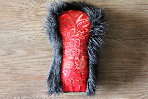 Red Tiki Gallery Driver Headcover
