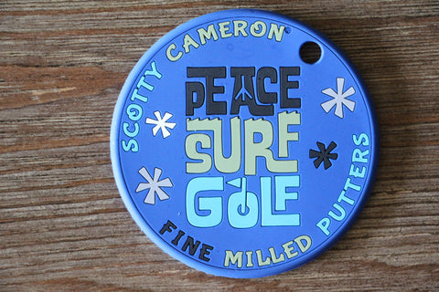 Scotty Cameron Peace Surf Golf Putting Disc