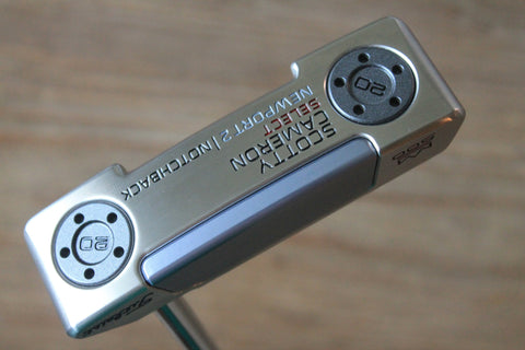 Scotty Cameron Select Newport 2 Notchback 1st of 500 Custom Putter