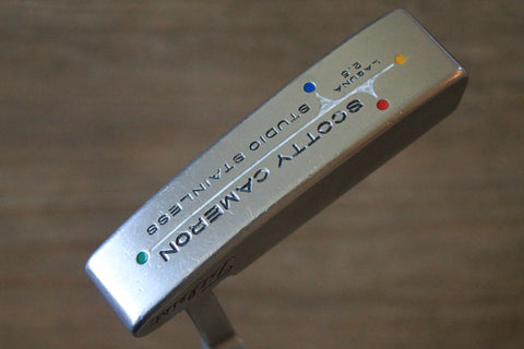 Scotty Cameron Studio Stainless Laguna 2.5 Putter