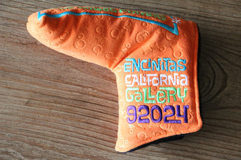 Orange Peace Surfer Gallery Headcover