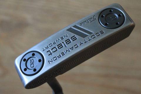 Scotty Cameron Select Newport Custom Blacked Out Putter