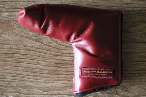 Red Wine Leather Paint Surfer Gallery Headcover